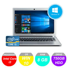ACER Aspire V5 471P TOUCHSCREEN LAPTOP NETBOOK Intel i3 8GB 750GB * 1YR GARANZIA *