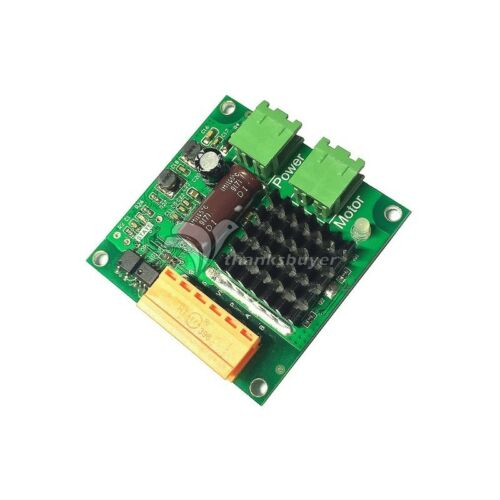 12V 24V 16A DC Motor Drive Module High Power H Bridge PWM  Input Full Isolation
