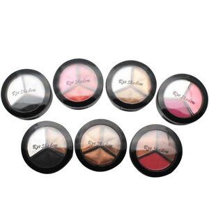H-H-Lidschatten-Palette-Eyeshadow-Kosmetik-Makeup-Wasserdicht-Pigment-mit-Pinsel