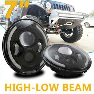 2pcs-7inch-Round-LED-Headlight-Hi-Low-Beam-Halo-Angle-Eye-For-Wrangler-JK-LJ-TJ