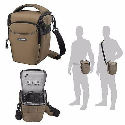 Samsonite DSLR SLR Toploader Digital Camera Case Bag B-Lite Fresh Foto KHAKI M