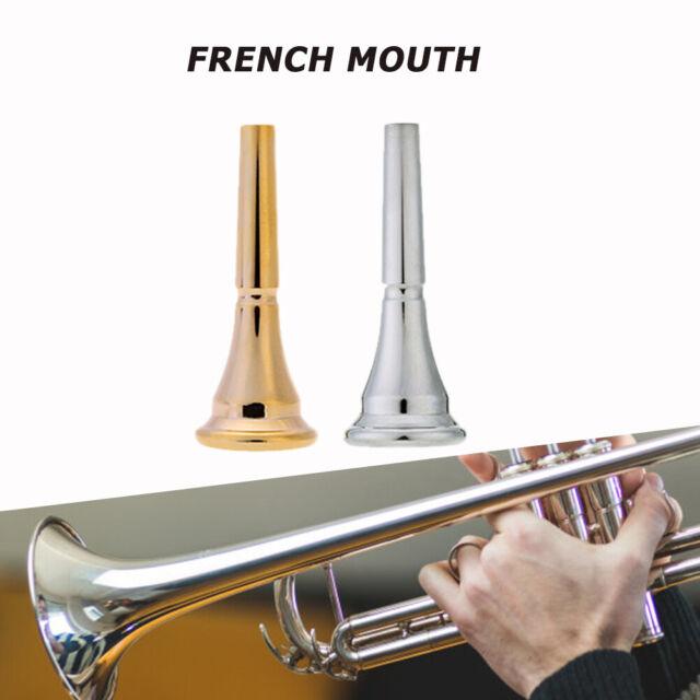 Messing Trompeten Mundstück für Bugle Horn Ersatz Zubehör