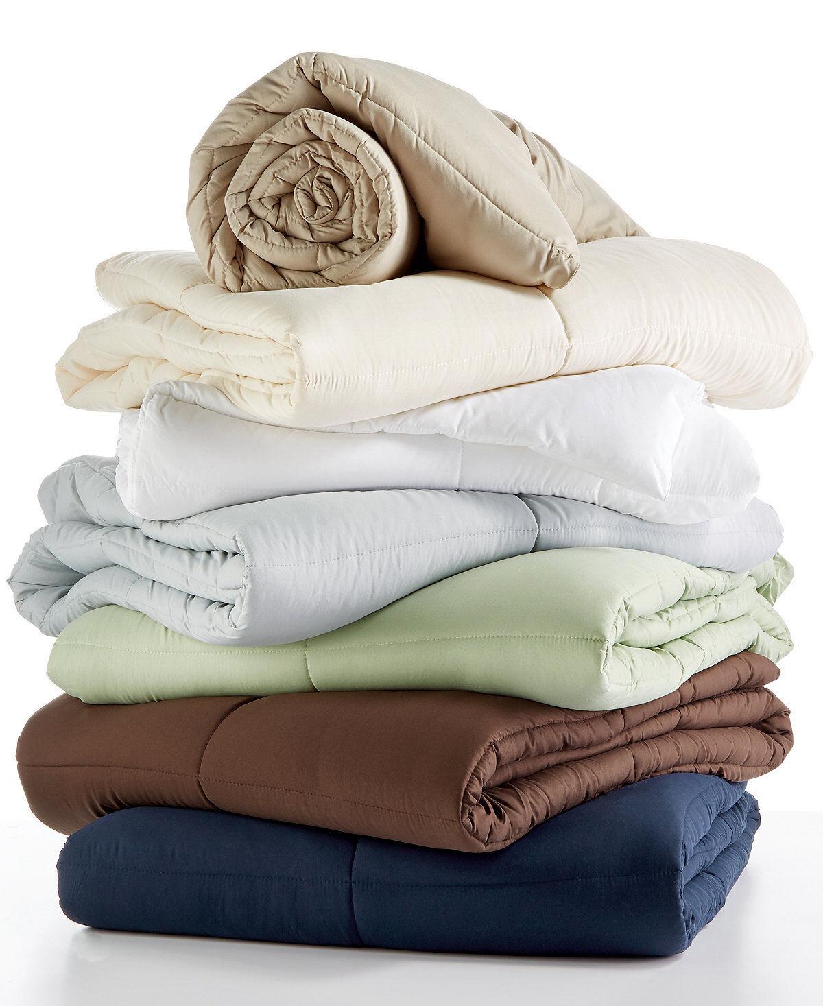 bluee Ridge Royal Luxe Down Alternative FULL QUEEN Comforter White G1061