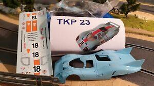 Mmk Psk Proto Slot Kit Résine Porsche 917 Lh # 18 Lm71 Edition Limitée 300 Monde