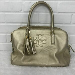 Tory-Burch-Thea-Triple-Zip-Satchel-in-Light-Metallic-Gold-Pebbled-Leather