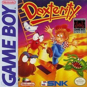 Nintendo-GameBoy-Spiel-Dexterity-Modul