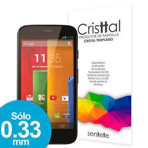 Sentete® Motorola Moto G Protector de Pantalla de Cristal Templado PREMIUM