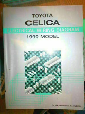 1990 TOYOTA CELICA ELECTRICAL WIRING DIAGRAM SERVICE ...
