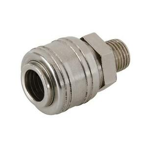 Euro-air-line-compressor-1-4-034-BSP-FITTING-Male-Thread-Quick-release-Coupling