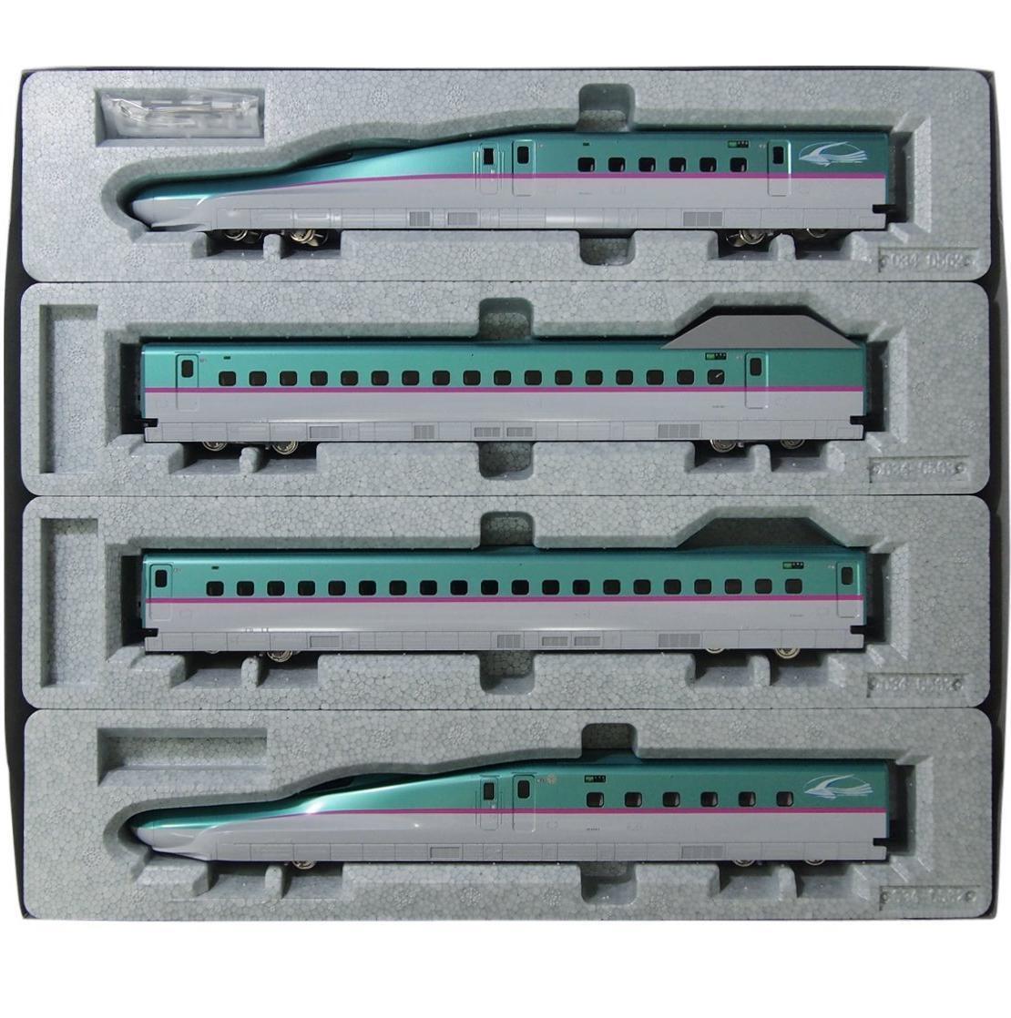 Kato 3 -516 serie E5 Shinkansen Bullet Train Hayabussa 4 bils ståard Set - HO