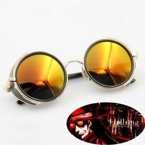 HELLSING Alucard cosplay prop Vampire Hunter Glasses Orange Sunglasses Unisex