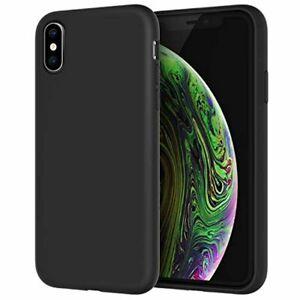 JETech Coque en Silicone Compatible avec iPhone X, iPhone XS, Étui de Protectio