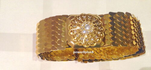 Thai Traditional Gold Plated Belt Buckle Costume Wedding Dress Antique Product