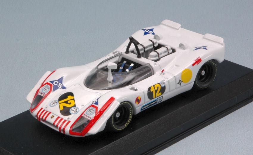 Porsche 908/02  12 2nd 1000 Km B.aires 1970 A. Soler Roig / J. Rindt 1:43 Model