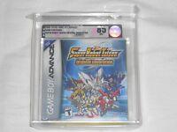 Super Robot Taisen Original Generation 1 Gameboy Advance Vga 85 Nm+ Silver