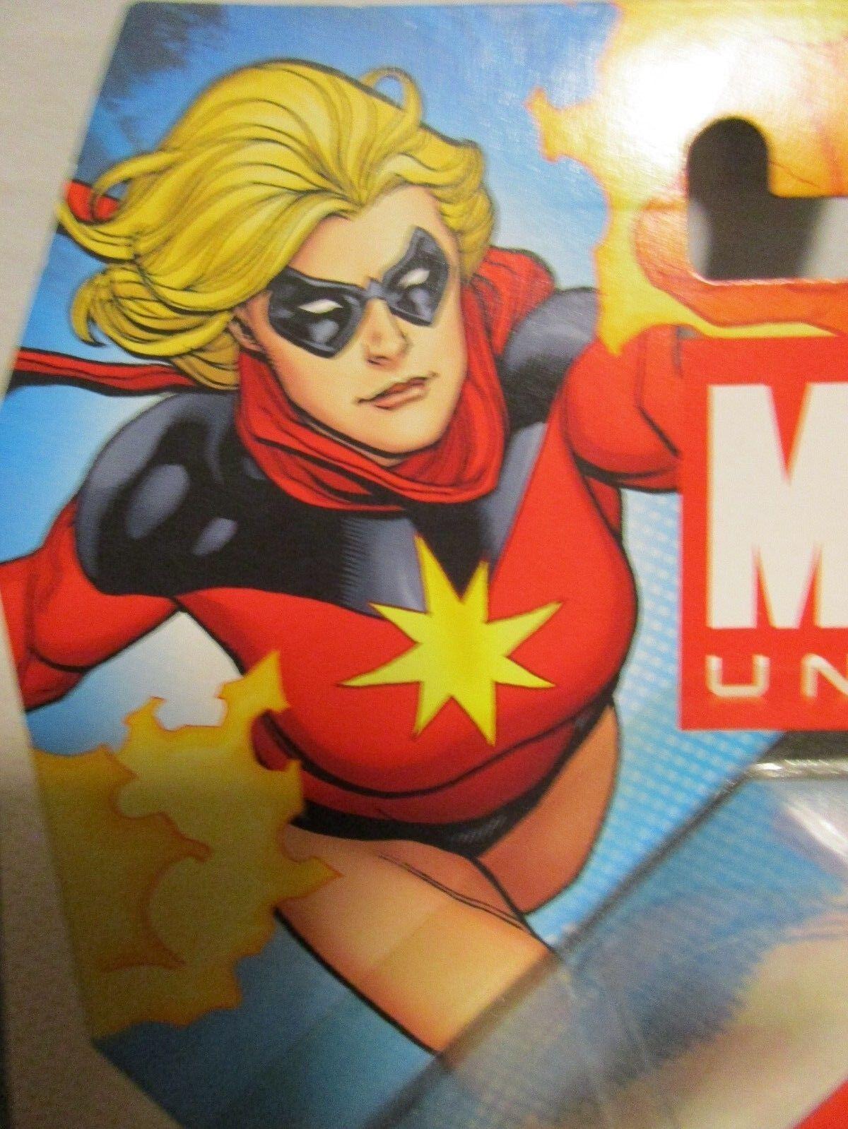 Marvel Universe 3.75  MS MARVEL - 1970's Classic VARIANT - MIP   Avengers