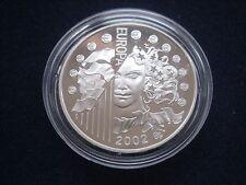 """MDS FRANKREICH 1,5 EURO 2002 PP / PROOF """"EUROPA - EINFÜHRUNG EURO"""", SILBER  #5"""