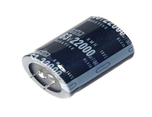 22000uF 63V Aluminum Elektrolyt Kondensator Filterkondensator 35mmX45mm GE
