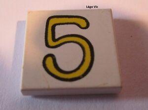 Lego fabuland tile 2x2 with 3 pattern ref 3068bpx54//set 3659 3683 3676