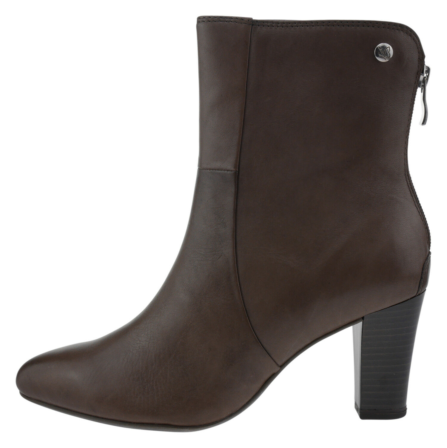 Caprice 92533029 Cuir Bottines Couleur Taupe 185946