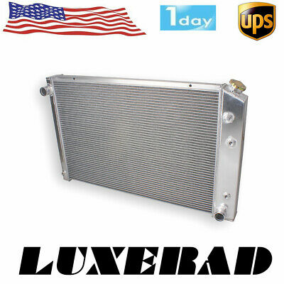 "CHAMPION 2 ROW ALUMINUM RADIATOR 73-86 CHEVY GMC TRUCK PICKUP C10 C20 19/"" CORE"