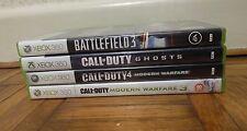 Call of Duty/Battlefield Xbox 360 Games Bundle (Modern Warfare, Ghosts +More)