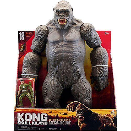 """Brand New Kong retour à Skull Island 18/"""" Présentoir Kong Mega figure King Kong"""
