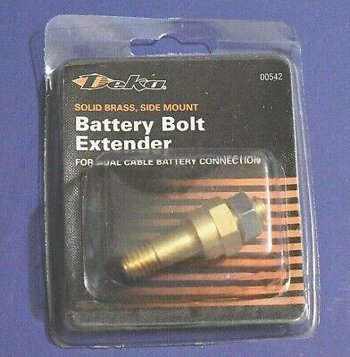 Laterali Post Dual Cavo Batteria Ottone Bullone Extender Per Accessorio Corrispondenza A Colori