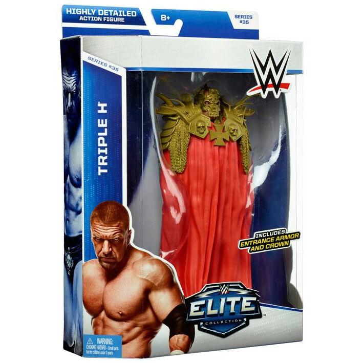 WWE ELITE 35 TRIPLE H FIGURE WRESTLING 2015 WRESTLEMANIA 30 ATTIRE HHH AUTHORITY