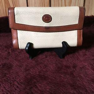 Vintage-Dooney-amp-Bourke-Pebbled-Leather-Wallet