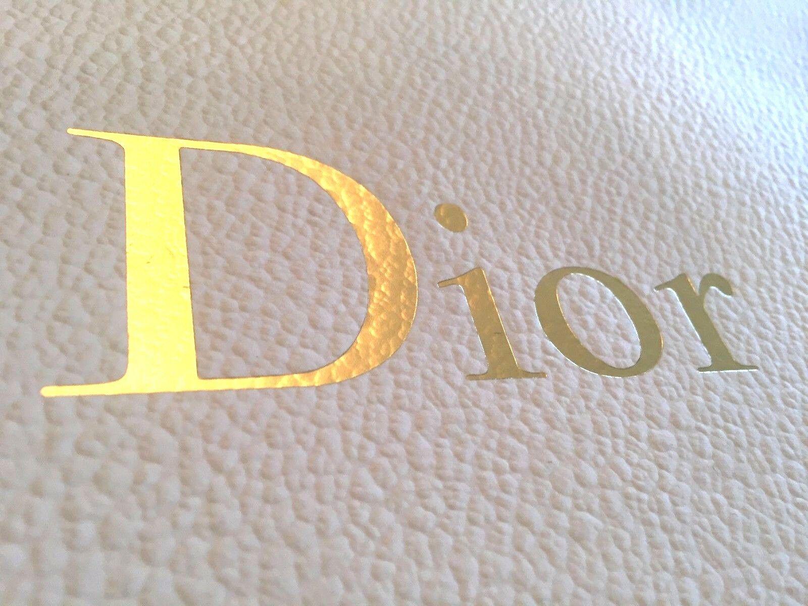 DIOR oro Logo Designer di di di Lusso Carta Shopping Bag 37b4eb
