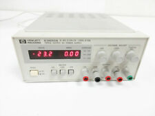 Hp E3630a Triple Output Dc Power Supply 20v 05a Amp 6v 25a 35w Qualified