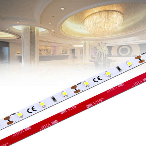 LED Stripe 1-Chip 3528 ✅ ab 0,5m- 20m RA 90+ 60 LED//m 12Vdc IP20 warmweiß