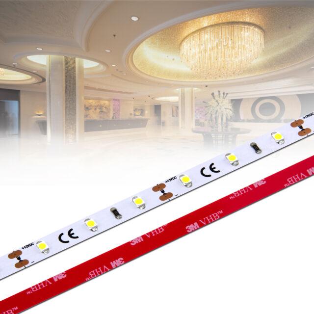 IP65 60 LED//m neutralweiß RA 90+,LED Stripe 1-Chip 3528 ✅ 0,5m- 20m 12Vdc