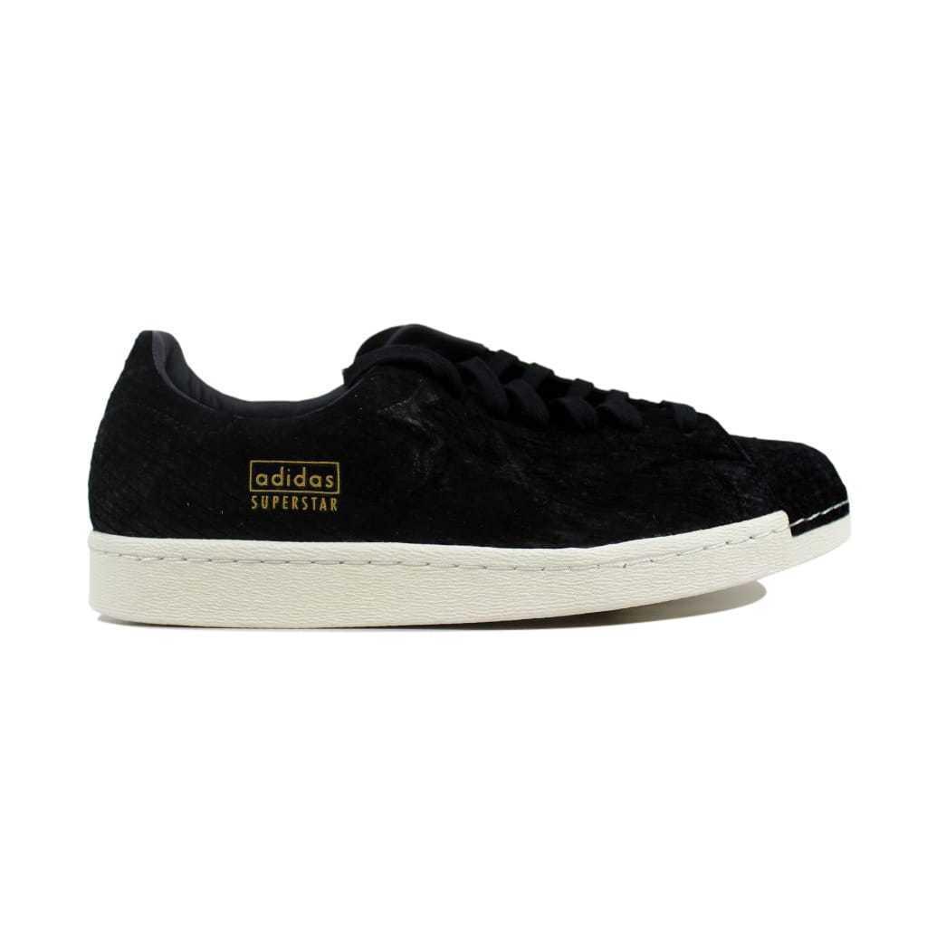 Adidas Superstar 80s limpio Negro Negro-Off blancoo S82508 para hombre Talla 13
