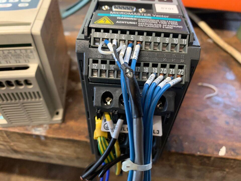 Frekvensomformer, Siemens Micromaster