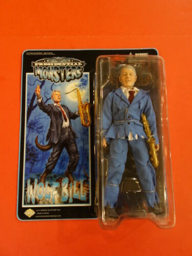 Heroes in Action Loup Bill Presidential Monsters Bill Clinton 2011 new in package
