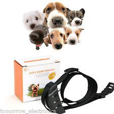 USA Anti Bark No Barking Tone Shock Training Collar Small Medium 5-150 lb Dog