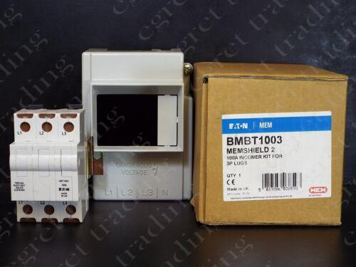 Eaton Mem Memshield 2 100A 3P Incomer Kit BMBT1003 - NEW
