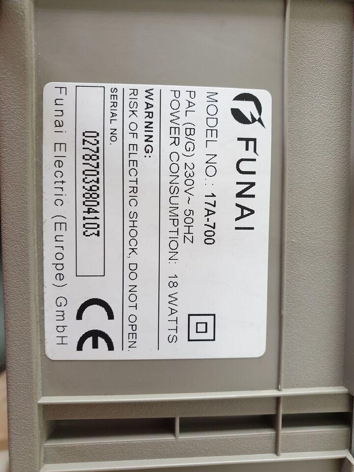 VHS videomaskine, Funai, 17A-700
