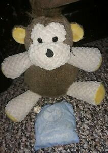 Scentsy-Buddy-9-034-Baby-Mollie-the-Monkey-Plush-Stuffed-Animal-Toy-Newborn-Nursery