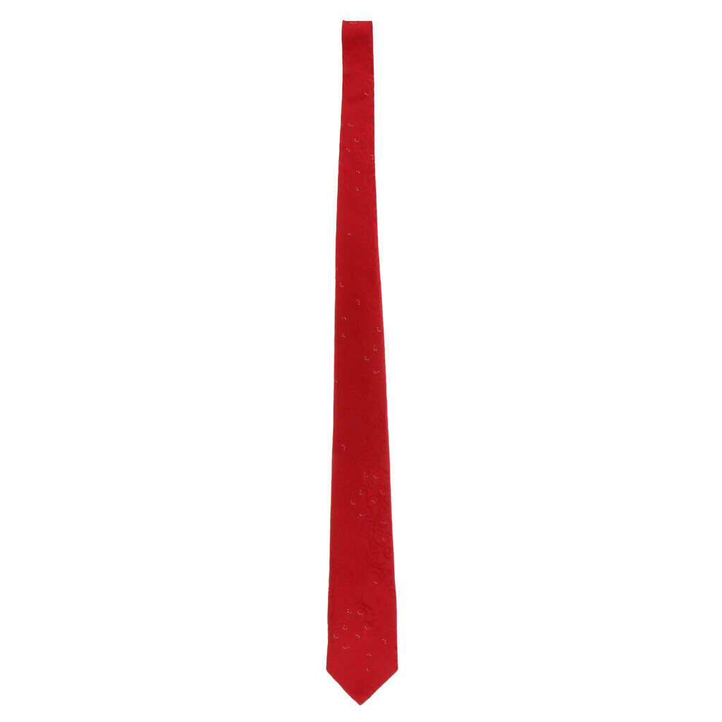 Mens New Rayon gestreifte Paisley Jacquard gewebte Hochzeit Krawatte Krawatte 03