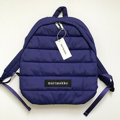 on sale various design exclusive range Marimekko Lolly Backpack in Blue New With Tags 6411254455562 | eBay