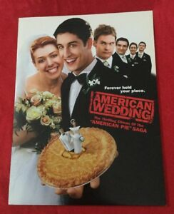 American Wedding Full Movie.Details About American Wedding Movie Press Kit With Photo Cd