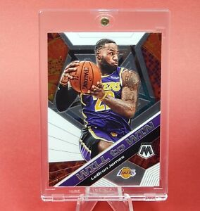 Lebron James MOSAIC LAKERS WILL TO WIN INSERT - INVESTMENT - UV CASE - MINT