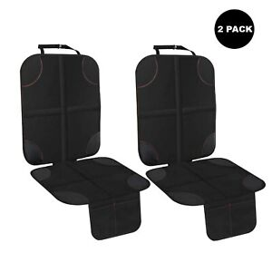 Details About Infant Car Seat Protector For 2 Pack Child Baby Kids Auto Waterproof Black Cover