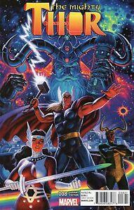 Mighty Thor #8 (VFN)`16 Aaron/ Dauterman (VARIANT)