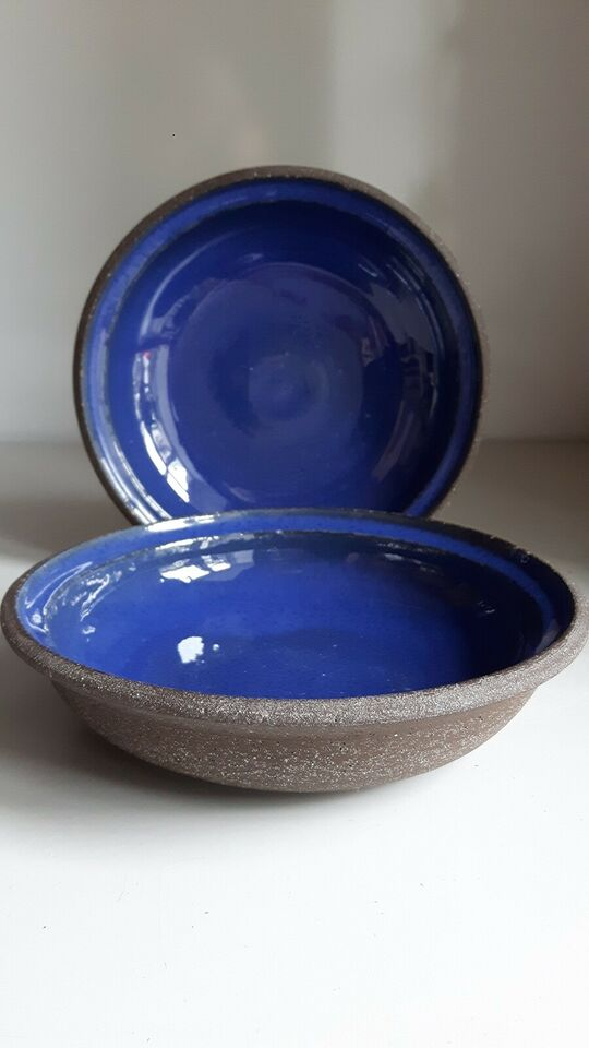 Keramik, Skål x 4, Dansk Keramik