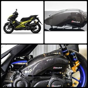 Details about CARBON AIR CLEANER FILTER INTAKE For YAMAHA AEROX NVX 155