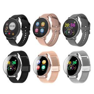 Smart Watch Wasserdichte Herzfrequenz Schlafmonitor Sport Armbanduhr SMS